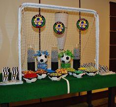 Setting the Mood: Soccer Bar Mitzvah