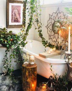 Bohemian Latest And Stylish Home decor Design And Life Style Ideas Stylish Home Decor, Diy Home Decor, Decor Interior Design, Interior Decorating, Decorating Ideas, Bathroom Kids, Jungle Bathroom, Simple Bathroom, Floral Room