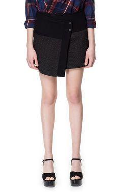 JACQUARD MINI SKIRT - Skirts - Woman - ZARA United States