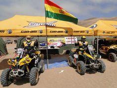 Morales se reunió con la organización del Dakar
