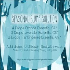 Young Living Essential Oils: Seasonal Depression Diffuser by natalie-w
