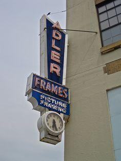 Adler Frames, St Louis, Missouri....building converted to condos, go figure.