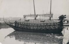 "Yacht - of large warship ""Geobukseon(거북선)""1415s"