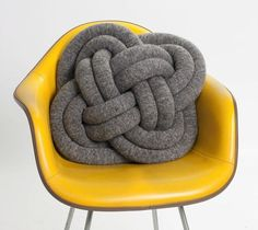 NotKnot Pillow – $170....but, this would be easy to make yourself! Learn the knot from a book or the internet...