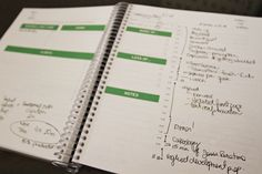 Personal Planner Design, Free Printable Planning Sheet & A Year of Free Organizational Designs