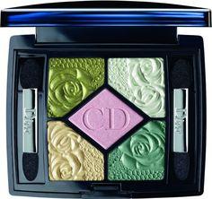 Palette 5 couleurs Garden Roses de Dior - tendance Pastel