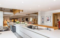 When their children finally flew the nest, one Ribble Valley couple fulfilled their ambition and completely transformed their barn conversion with a dream Stuart Frazer kitchen.