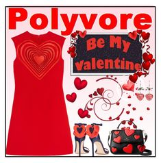 """I ❤Polyvore"" by fassionista ❤ liked on Polyvore featuring Christopher Kane, Kate Spade, valentinesday and polyvoreeditorial"
