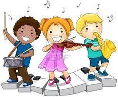 music notes and kids free clip art super cute for program covers rh pinterest com music class clipart free music class clipart free