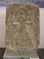 Tophet de Nora (Sardaigne) - stèle portant le signe de Tanit - Musée Archéologique de Nora