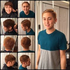 Hair color and cut by Thunyatorn NG