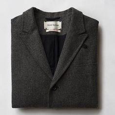 Regram @boysbygirls  The Portland Jacket in Osborne Grey.  #oliverspencer #menswear #aw15 #tailoring by oliverspencer
