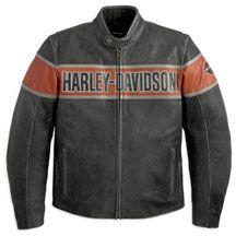 Men's Victory Lane Leather Jacket | MotorClothes® Merchandise | Harley-Davidson USA