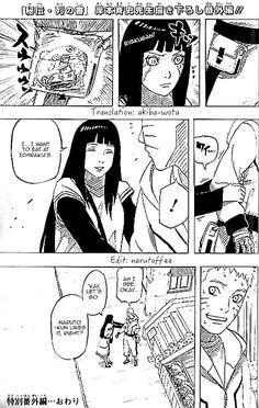 Hinata is so thoughtful towards Naruto