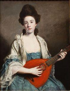 Portrait of Mrs. Froude by Joshua Reynolds, 1762