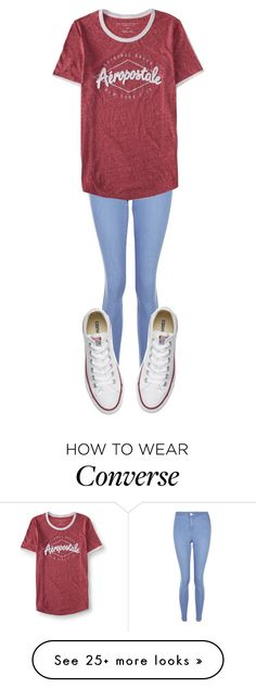 """""""Untitled #448"""" by sydthekyd01 on Polyvore featuring New Look, Aéropostale and Converse"""