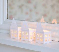 DIY : des lampions de Noël Template
