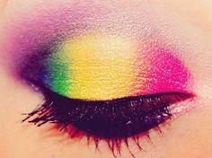 rainbow shadow!