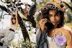 The Vera Wang Princess ads do convey images of imperfection being acceptable. Messy hair and clothes and vintage/broken looking accessories are featured in the ads. Not being perfect does not mean that you cannot be a princess (the ideal thing to be called). You can still be active and be beautiful, but you still have to be feminine to be beautiful.  The bottle is the definition of hyper-femininity. It is purple, the color of royalty, and shaped like a heart, with a cap that looks like a…