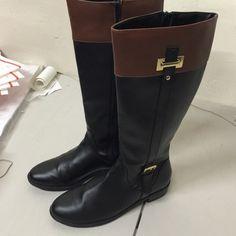 Karen Scott Knee High Boots In excellent condition , Karen Scott Knee High Boots Karen Scott Shoes