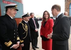 Prince William and Catherine, Duchess of Cambridge, with Prince Charles to open outdoor centre at Dumfries House in Scotland.