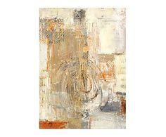 Lienzo sobre bastidor de madera Arte abstracto XI - 50x75 cm