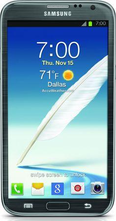 Samsung Galaxy Note II 4G Android Phone Titanium