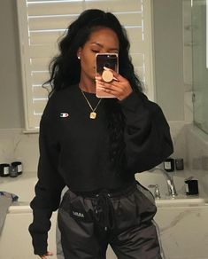 Baddie Outfits – Page 8644268244 – Lady Dress Designs Hip Hop Outfits, Chill Outfits, Swag Outfits, Mode Outfits, Casual Outfits, Summer Outfits, Fashion Killa, Look Fashion, Girl Fashion