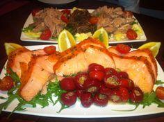 Tuna from Sardinia and Salmon from Burren @ Pinocchio Italian Restaurant in Dublin!
