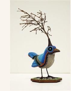 A Tree Grows in Birdland • Jan Huling – Bead Artist