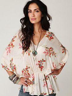 DIY...love this blouse!