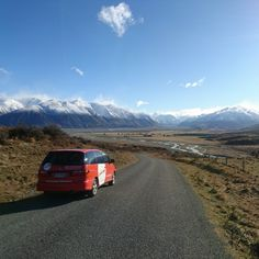Road tripping in the South Island, New Zealand