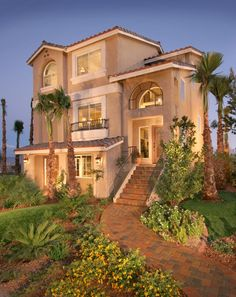 The William Model Which Was Located At Our Kingsbridge Community In Coronado Ranch First Three Story Home American West Built
