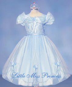 Baby Blue Cinderella Princess Costume