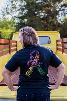 Carolina Girls Believe Cure | underthecarolinamoon.com