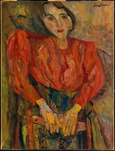Chaim Soutine (French 1893–1943). The Red Blouse, ca. 1925–27. The Metropolitan Museum of Art, New York. Gift of the Leonore S. Gershwin 1987 Trust, 1993 (1993.89.4)