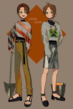 Twitter Character Art, Character Design, Minecraft Wallpaper, Dumb And Dumber, My Idol, Manga Anime, Fashion Art, Digital Art, Twitter