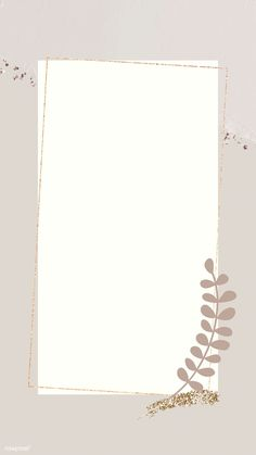 Leafy gold frame  mobile phone wallpaper vector | free image by rawpixel.com / marinemynt #vector #vectorart #digitalpainting #digitalartist #graphicdesign #sketch #digitaldrawing #doodle #illustrator #digitalillustration #modernart