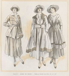 ensemble en jersey-Gabrielle Chanel-début du XXe siècle (1916)