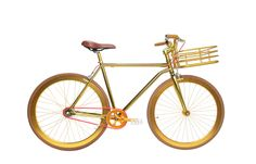 Golden Fixie (by Martone Cycle Co., $900)