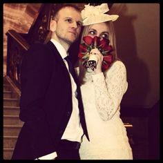 Our wedding :) x