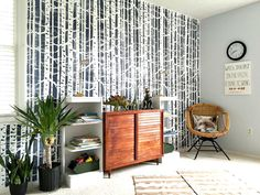 Boys' Room Reveal + A Stencil Giveaway! — StyleMutt Home - Your Home Decor Resource For All Breeds Of Style