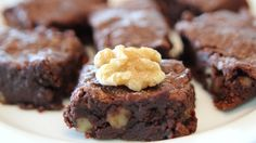 Walnut Cocoa Brownies Recipe - Holidays Special - CookingWithAlia - Epis...