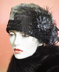 1920s Vintage Inspired  cloche Hat  Great Gatsby by aileens4hats, £30.00