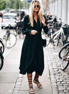Le parfait total look noir #184 (blog Nina Suess)