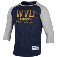 sale retailer 55c5c 6c963 Champion Mens Rochester West Virginia Baseball Tee