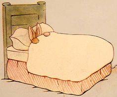 Beatrix Potter. I know how that rabbit feels