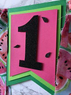 Watermelon first birthday