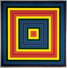 Frank Stella. Gran Cairo, 1962. Whitney Museum of American Art, New York.