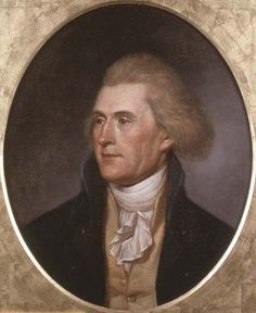 Charles Wilson Peale | Thomas Jefferson |Pinned from PinTo for iPad|